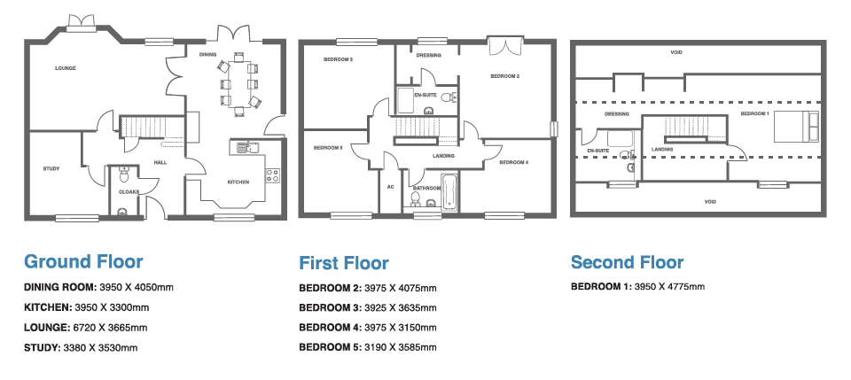 Ivy Manor, Plot 9 floor plan
