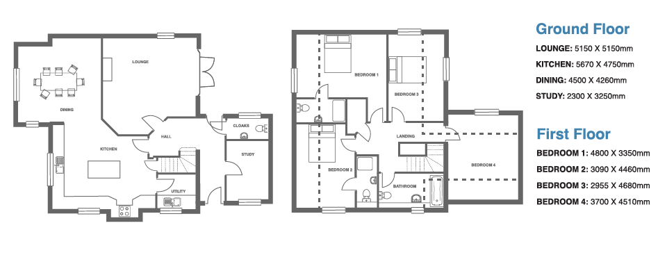 Ivy Manor, Plot 13 floor plan