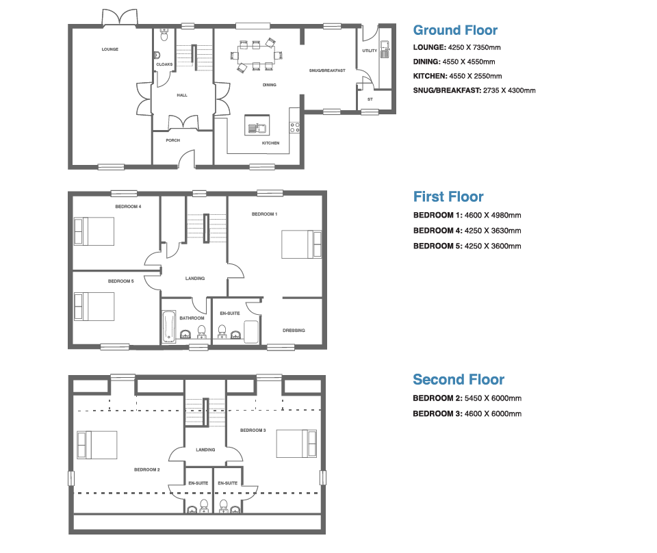 Ivy Manor, Plot 12 floor plan