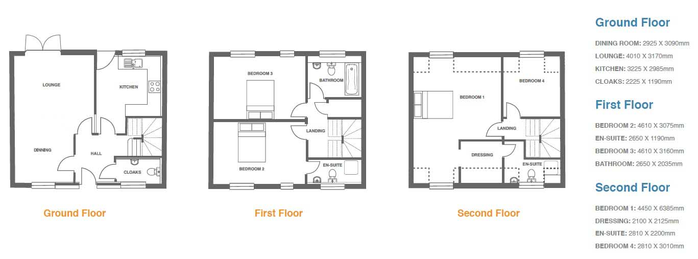 Woodbury Walk, Plot 5 floor plan
