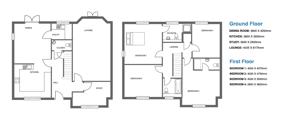 Ivy Manor, Plot 4 floor plan