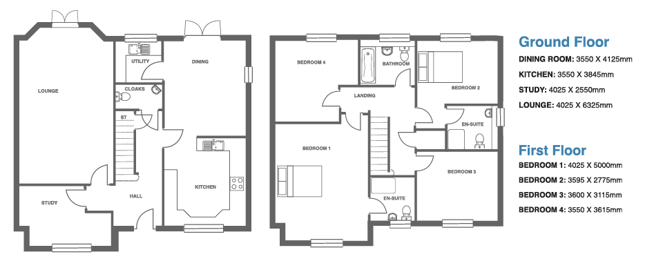 Ivy Manor, Plot 7 floor plan