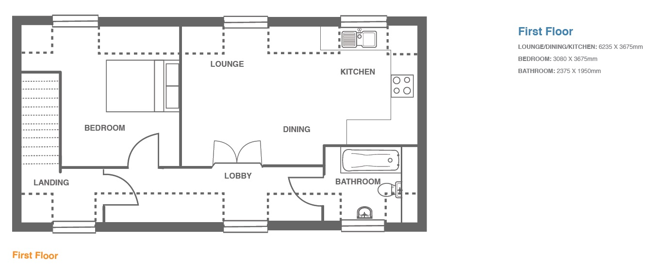 Woodbury Walk, Plot 4 floor plan