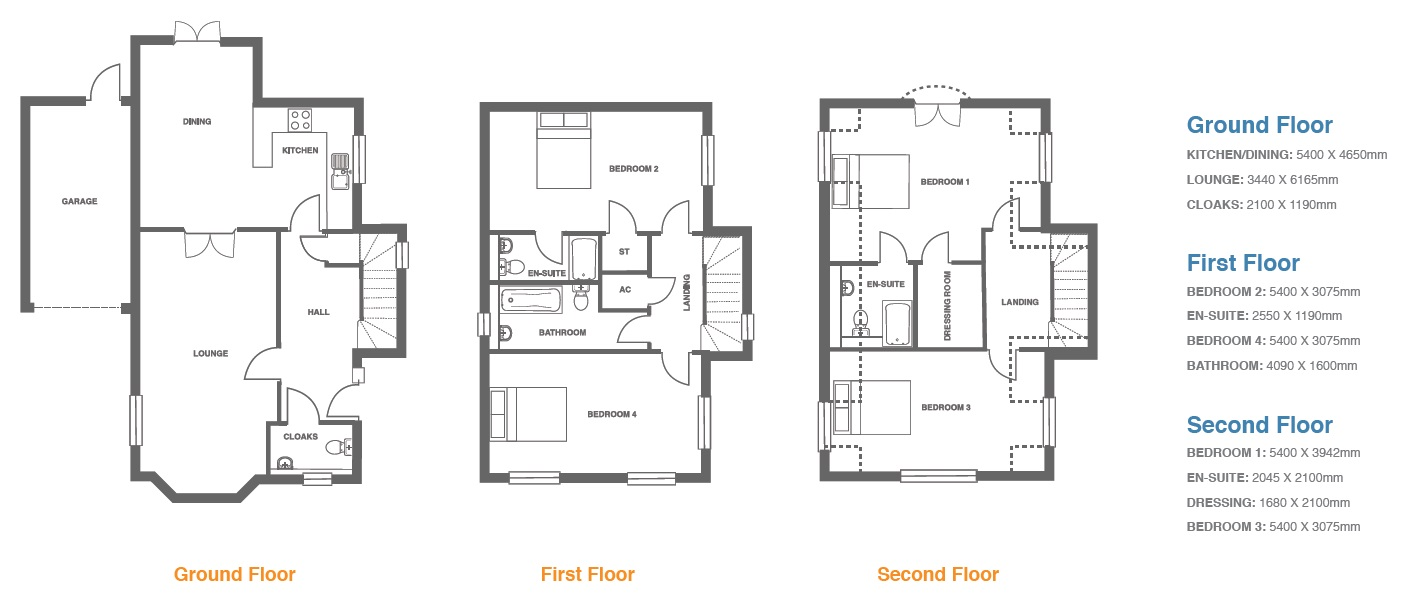 Woodbury Walk, Plot 7 floor plan