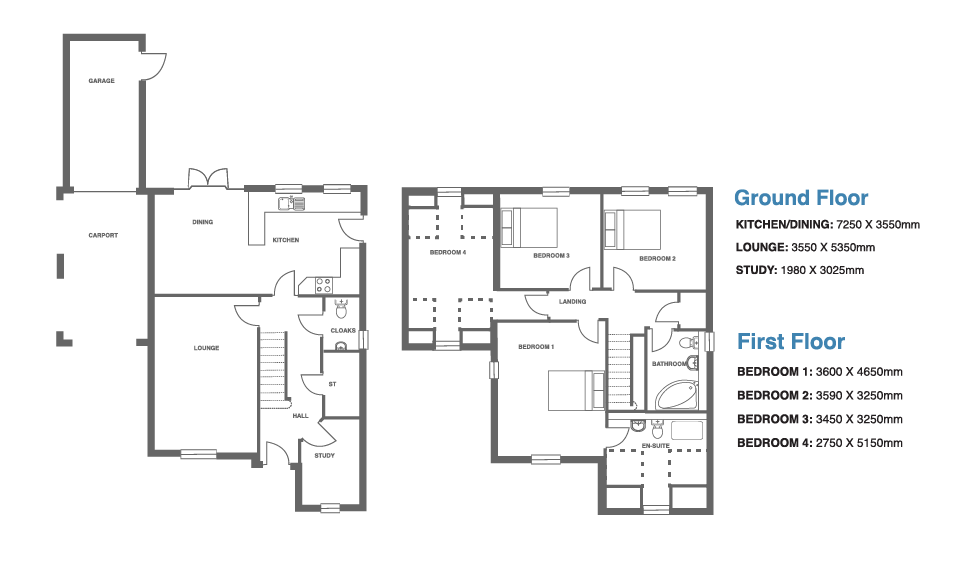 Ivy Manor, Plot 5 floor plan