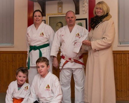Walton Homes cements its community credentials with martial arts group sponsorship image