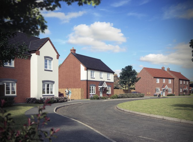 Walton Homes unveils Swallowhurst, Tamworth image