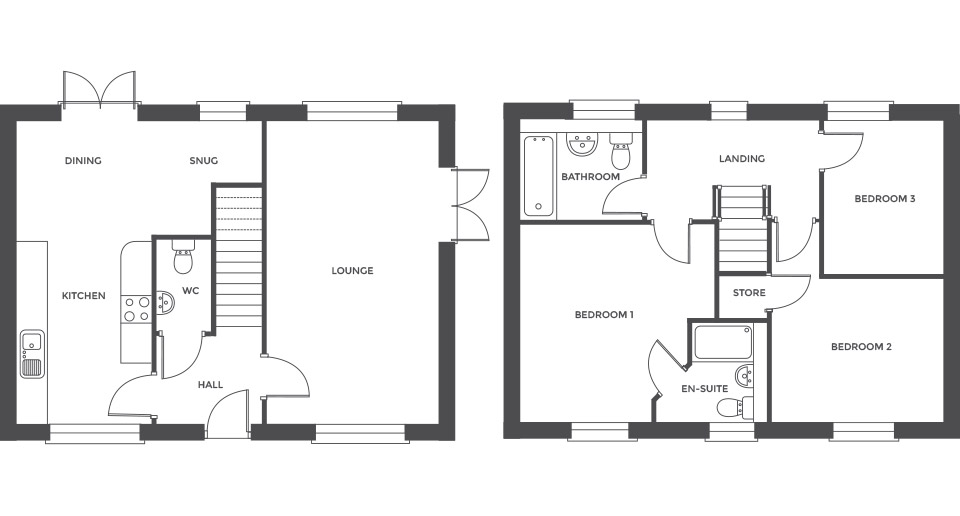 Swallowhurst, Plot 2 floor plan