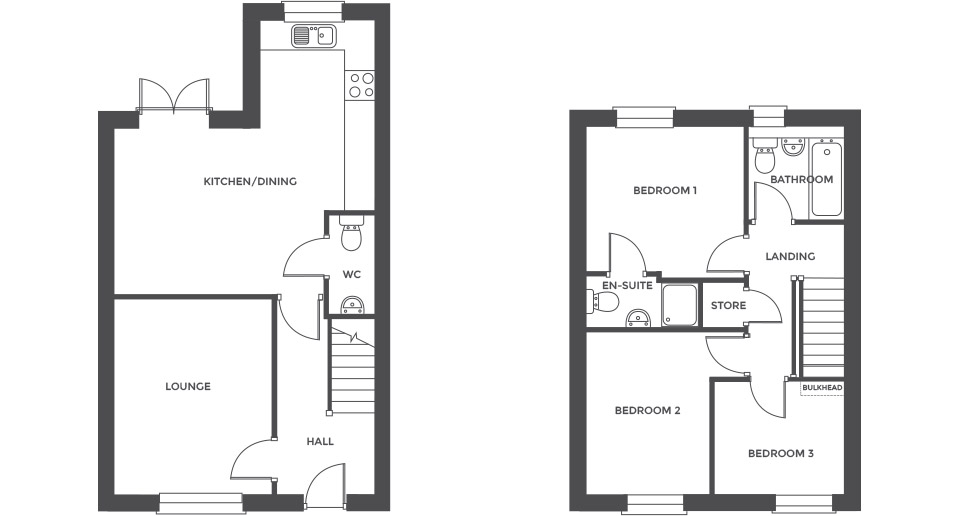 Swallowhurst, Plot 19 floor plan