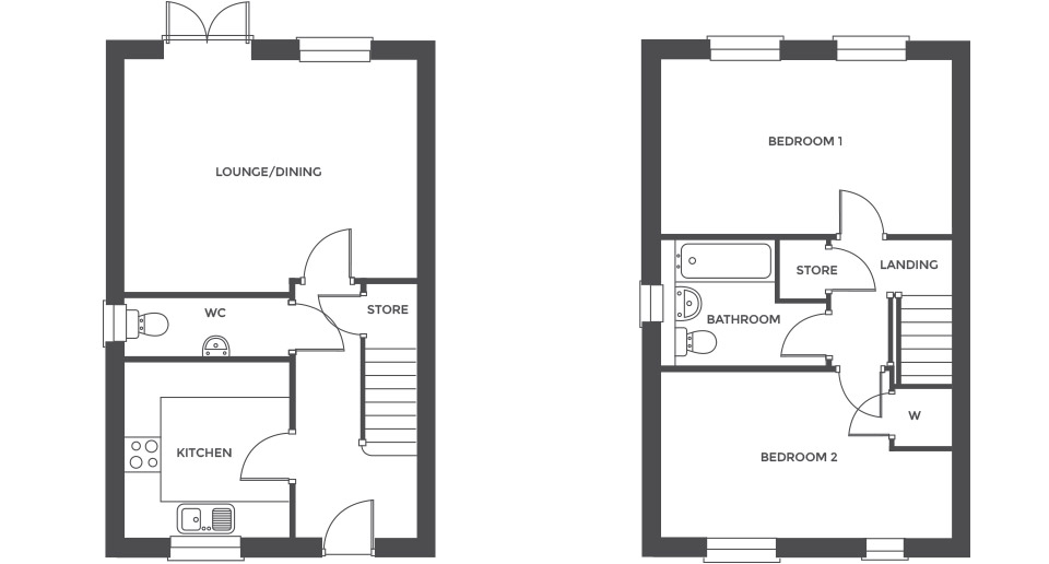 Swallowhurst, Plot 21 floor plan