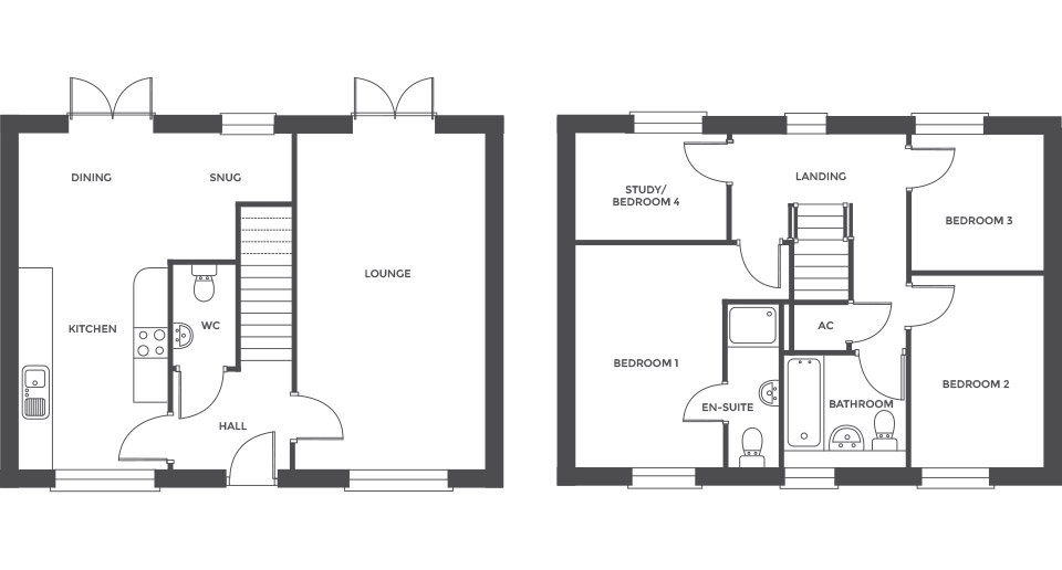 Swallowhurst, Plot 3 floor plan