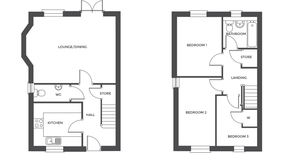 Swallowhurst, Plot 25 floor plan