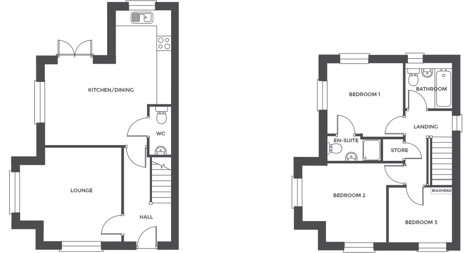 Swallowhurst, Plot 18 floor plan