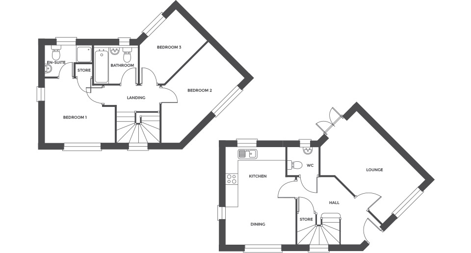 Swallowhurst, Plot 13 floor plan