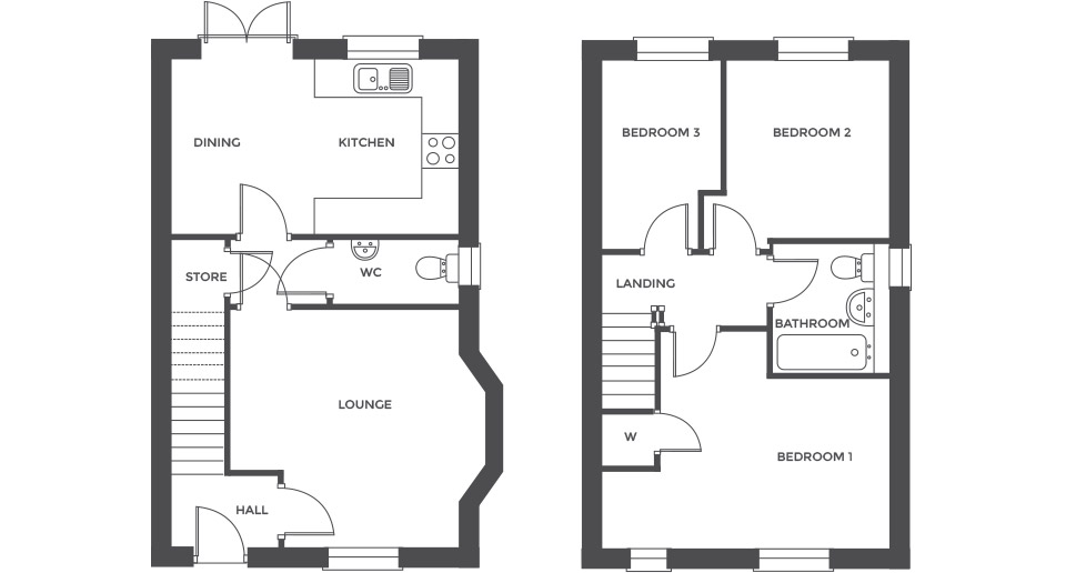 Swallowhurst, Plot 26 floor plan
