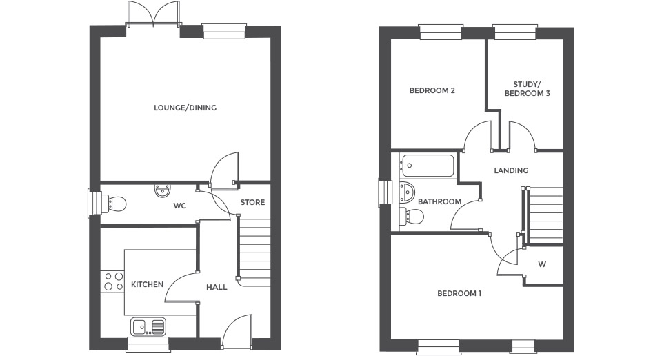 Swallowhurst, Plot 29 floor plan