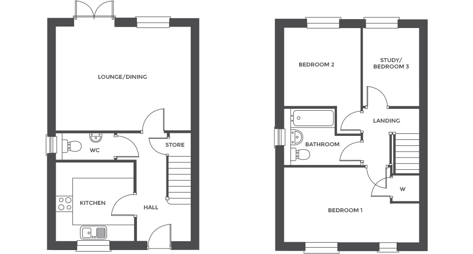 Swallowhurst, Plot 22 floor plan