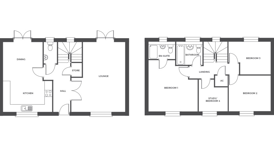 Swallowhurst, Plot 4 floor plan