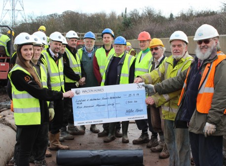 Supporting the Canal Restoration work as part of 30 wishes pledge image