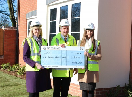 £500 donation to mark 30 Years of Childline image