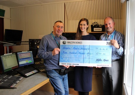 Hospital Radio Stafford walking on air after £500 funding image