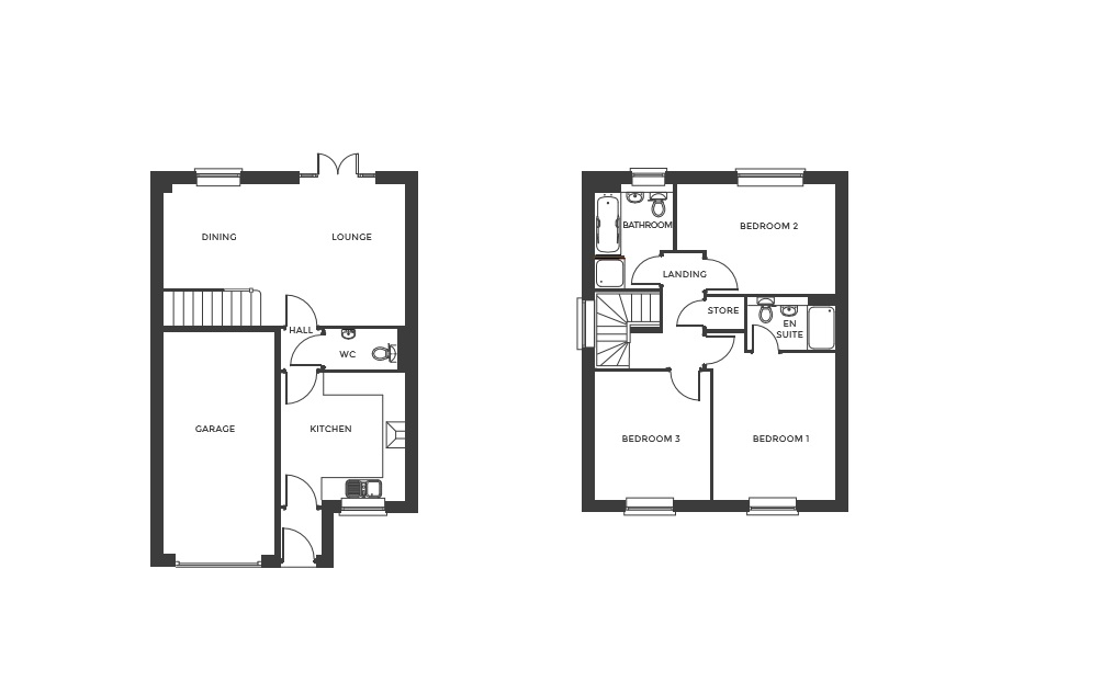 Devereux Grange, Plot 4 floor plan