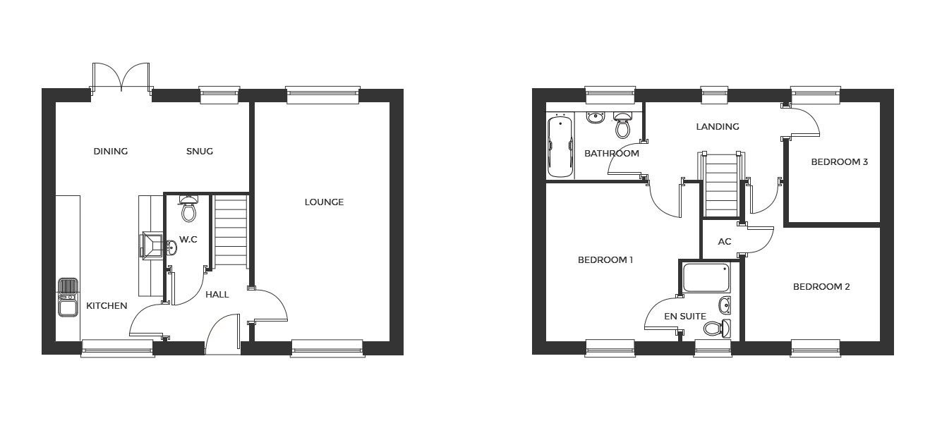Devereux Grange, Plot 25 floor plan