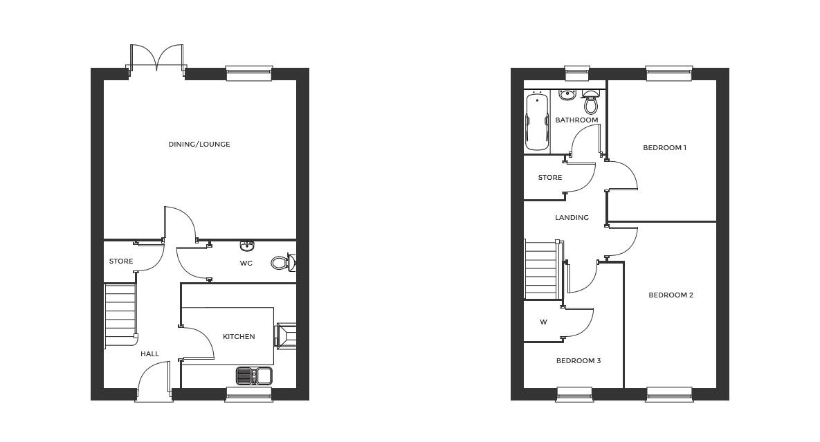 Devereux Grange, Plot 34 floor plan