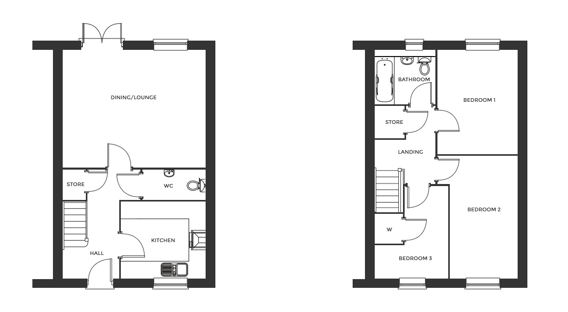 Devereux Grange, Plot 36 floor plan