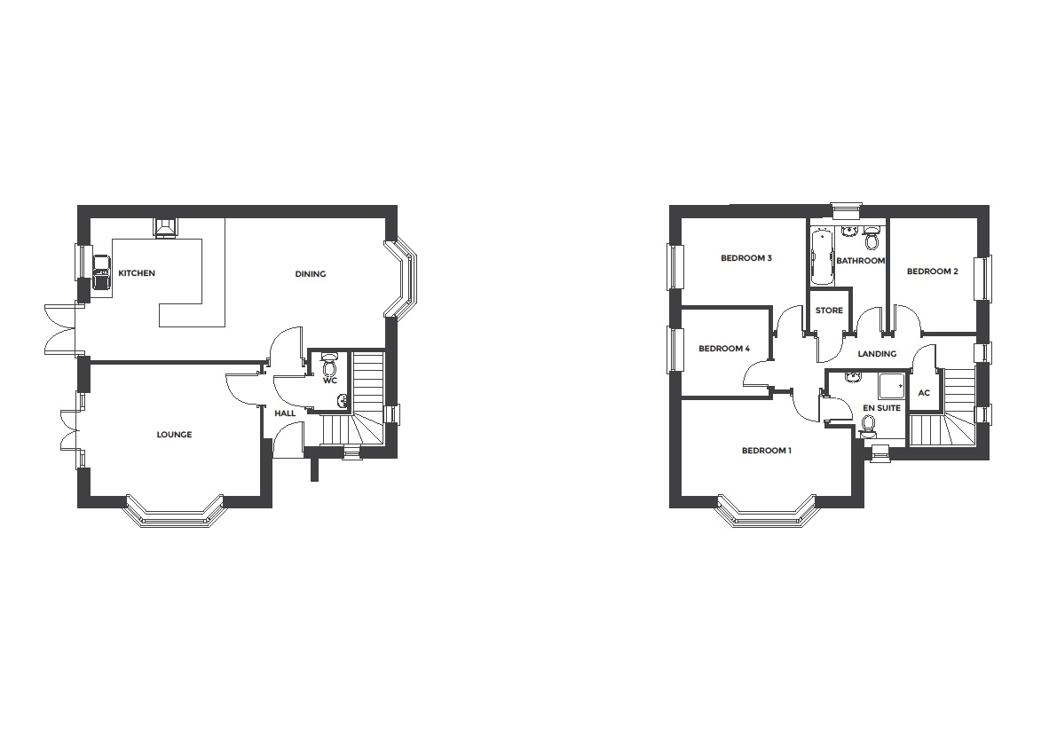 Devereux Grange, Plot 12 floor plan