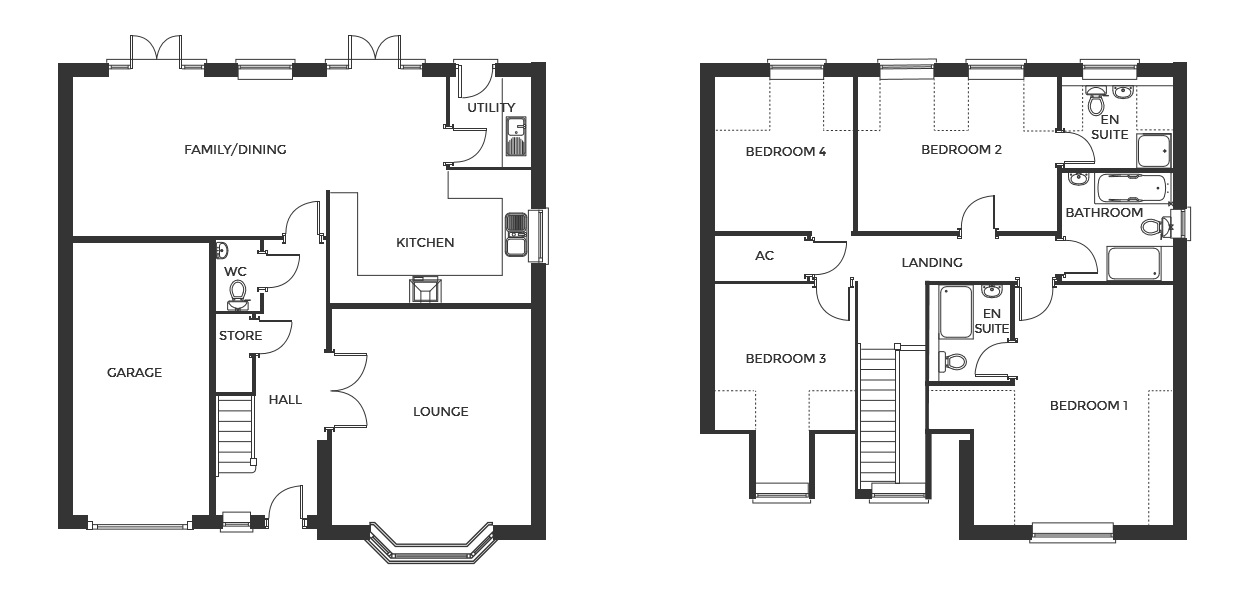 Devereux Grange, Plot 30 floor plan