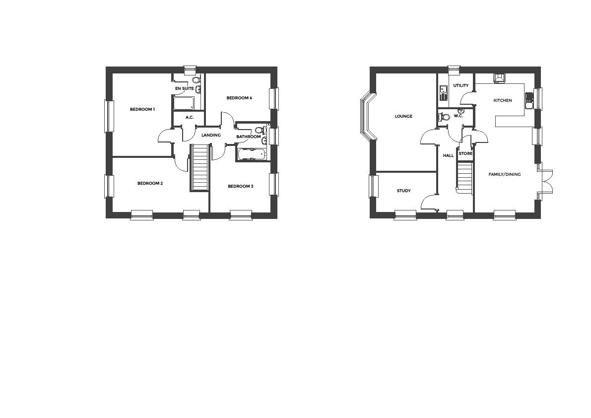 Devereux Grange, Plot 40 floor plan