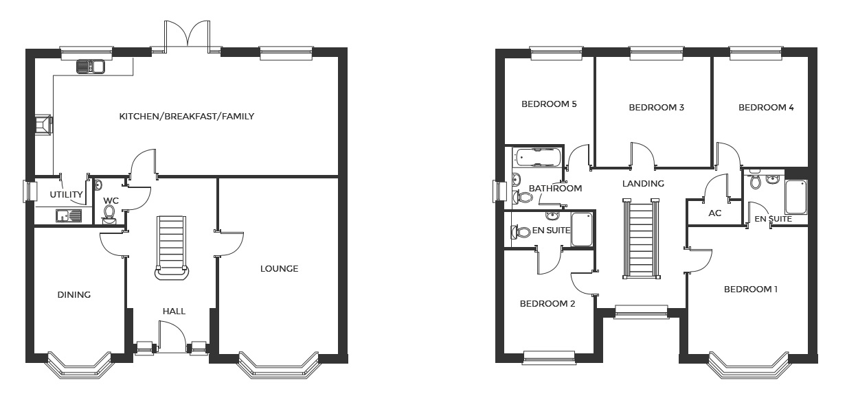 Devereux Grange, Plot 1 floor plan