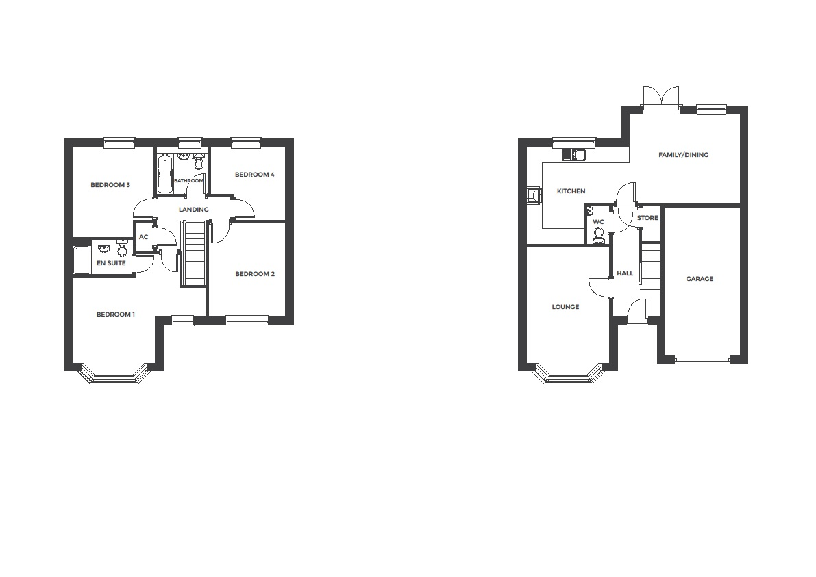 Devereux Grange, Plot 38 floor plan