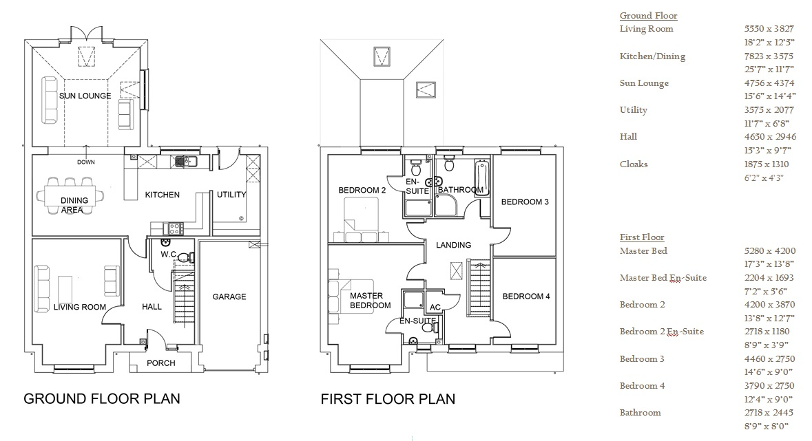 Harcourt Gardens, Plot 5 floor plan