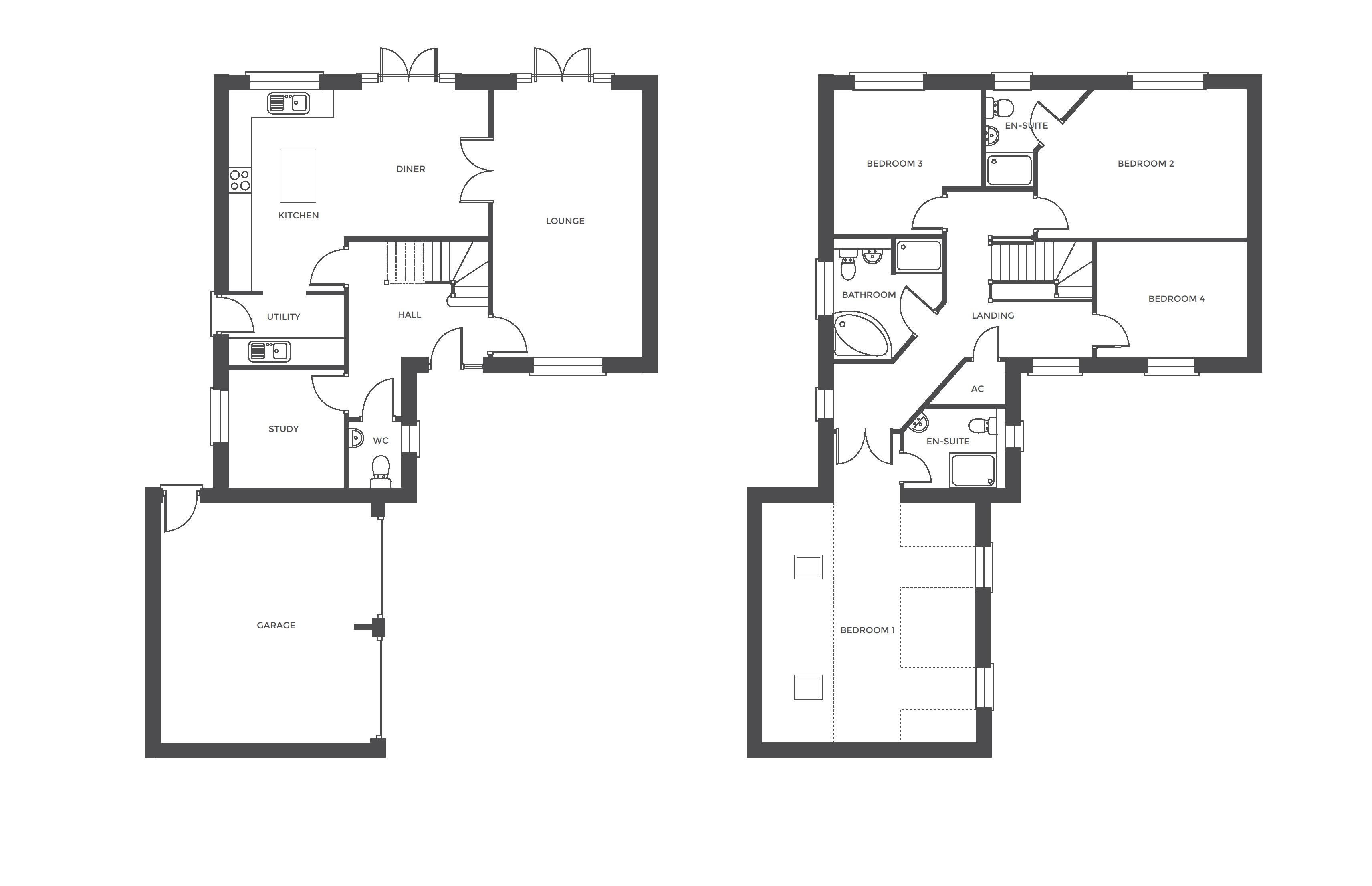 The Grange at Ivy Manor, Plot 17 floor plan