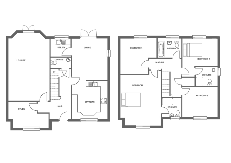 The Grange at Ivy Manor, Plot 18 floor plan