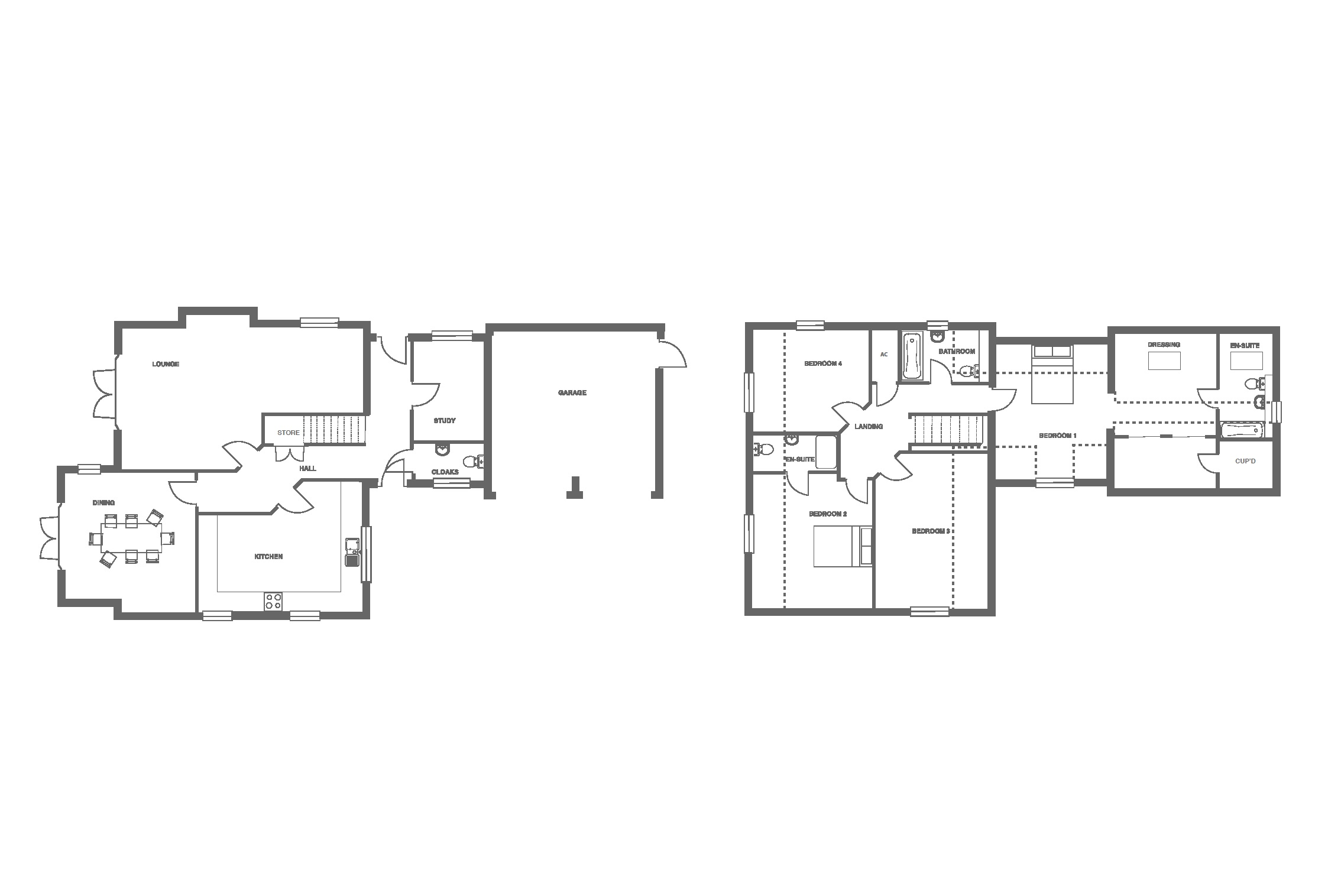 The Grange at Ivy Manor, Plot 16 floor plan