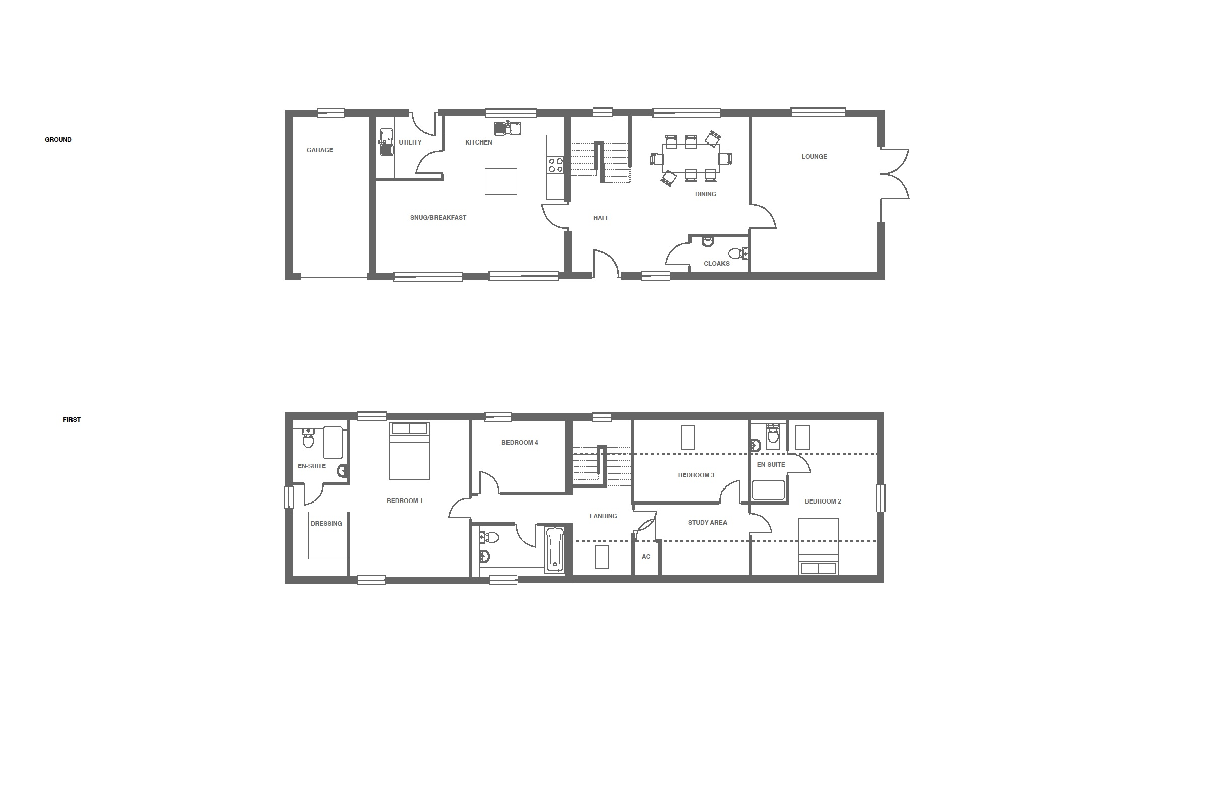 The Grange at Ivy Manor, Plot 15 floor plan