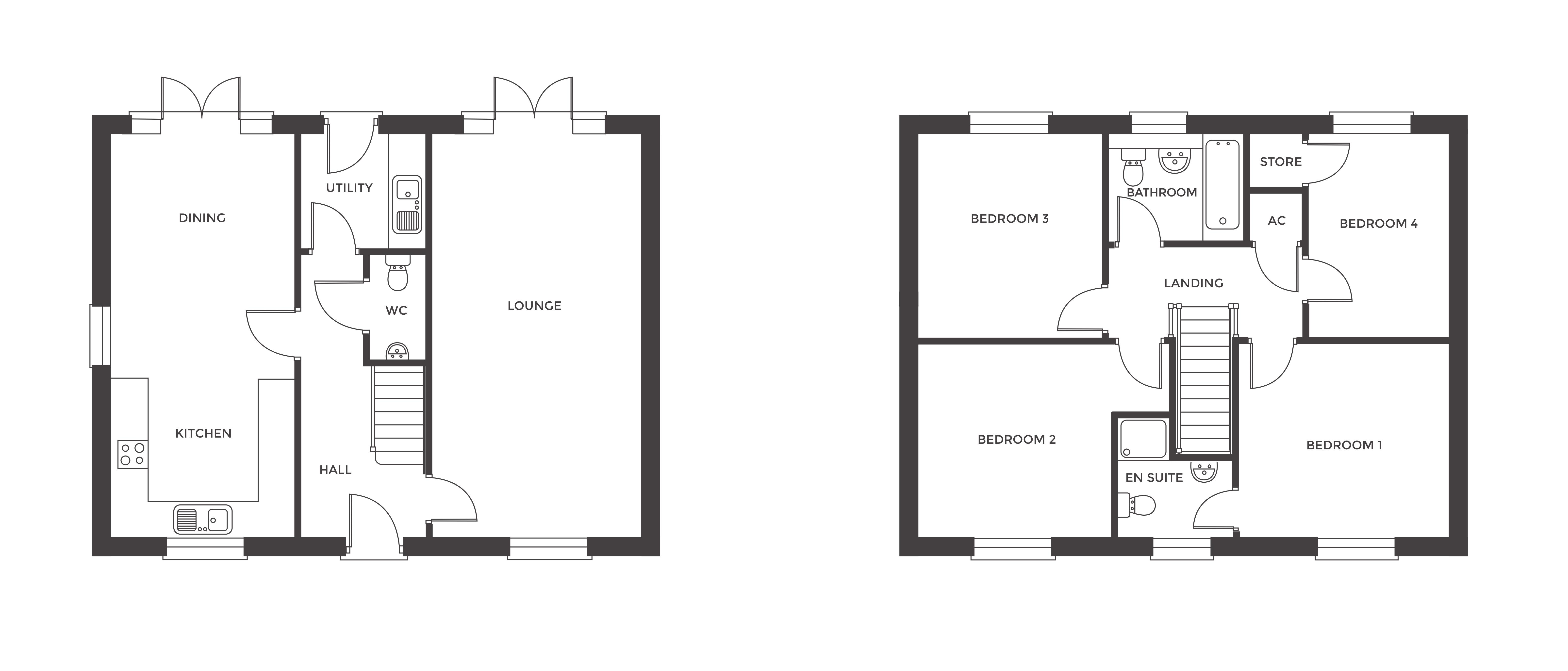 Redfern Rise, Plot 3 floor plan