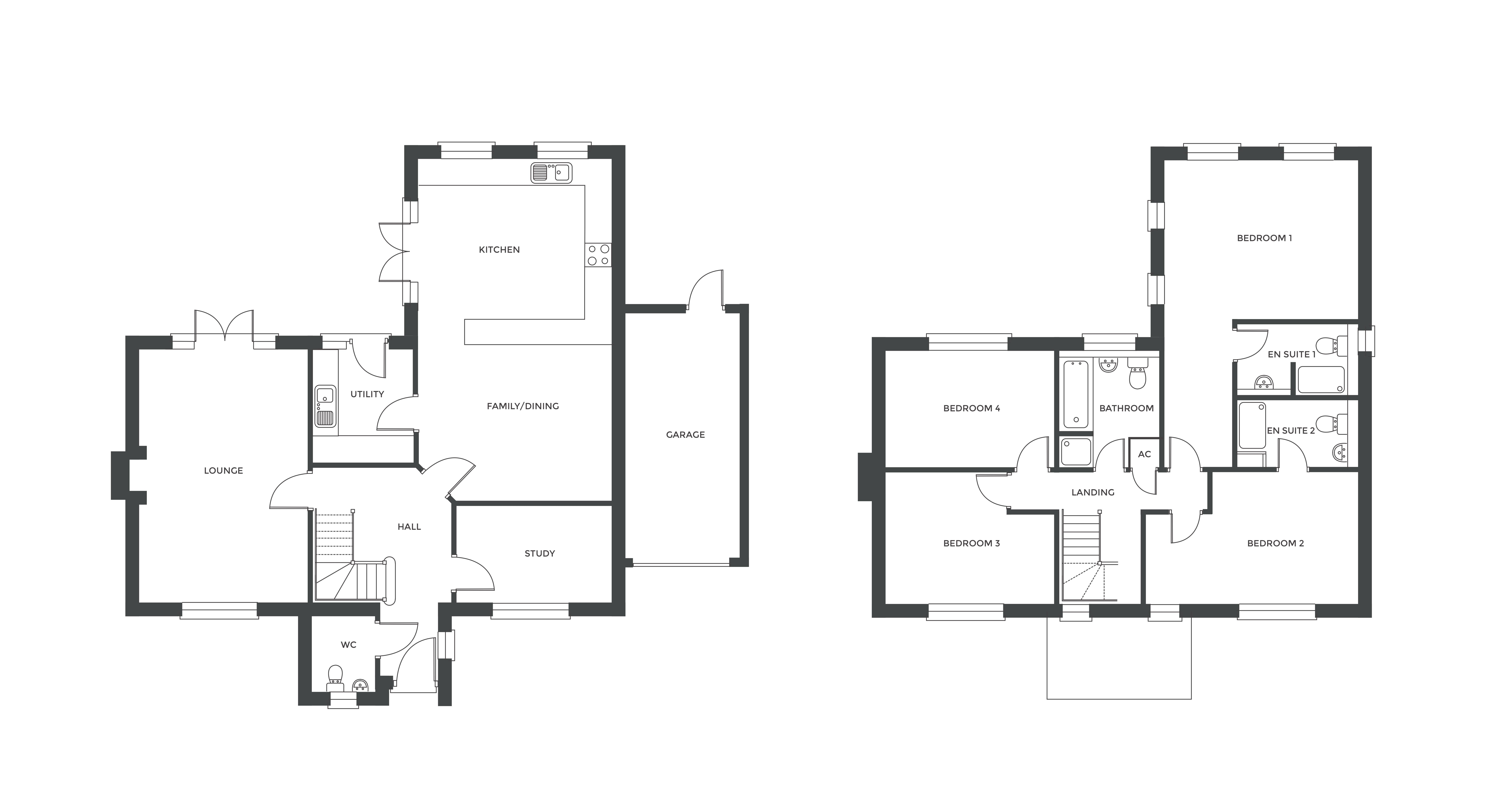 Redfern Rise, Plot 8 floor plan