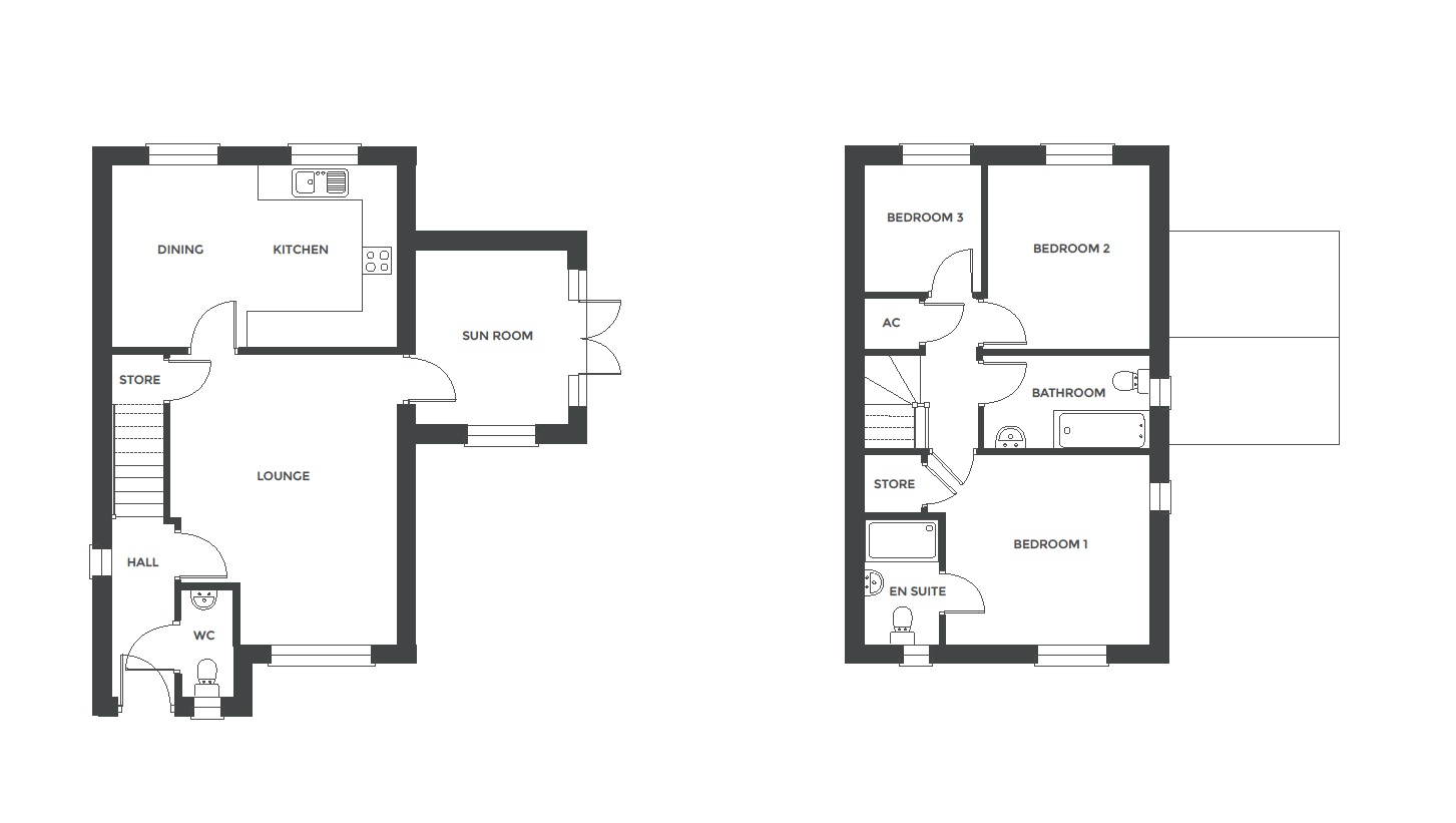 Redfern Rise, Plot 11 floor plan