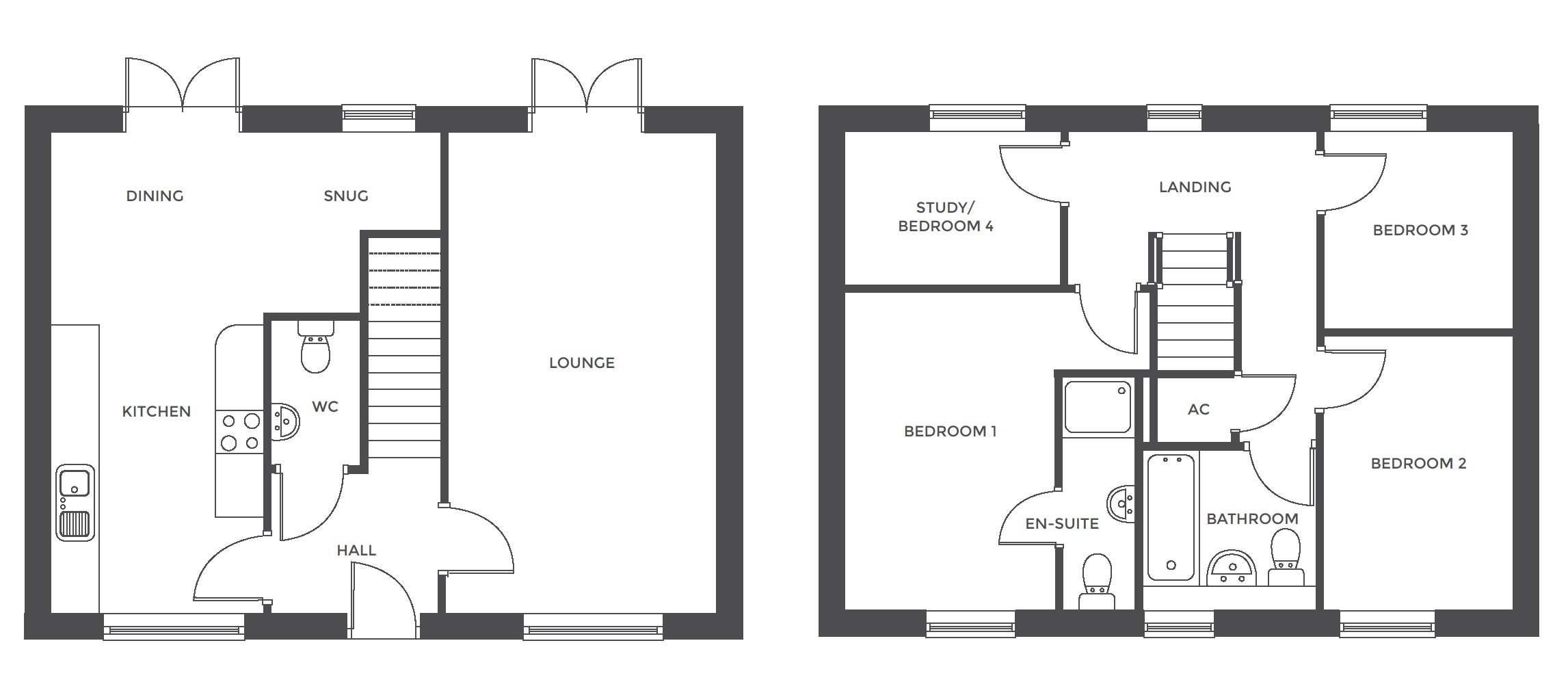 Repington Walk, Plot 17 floor plan