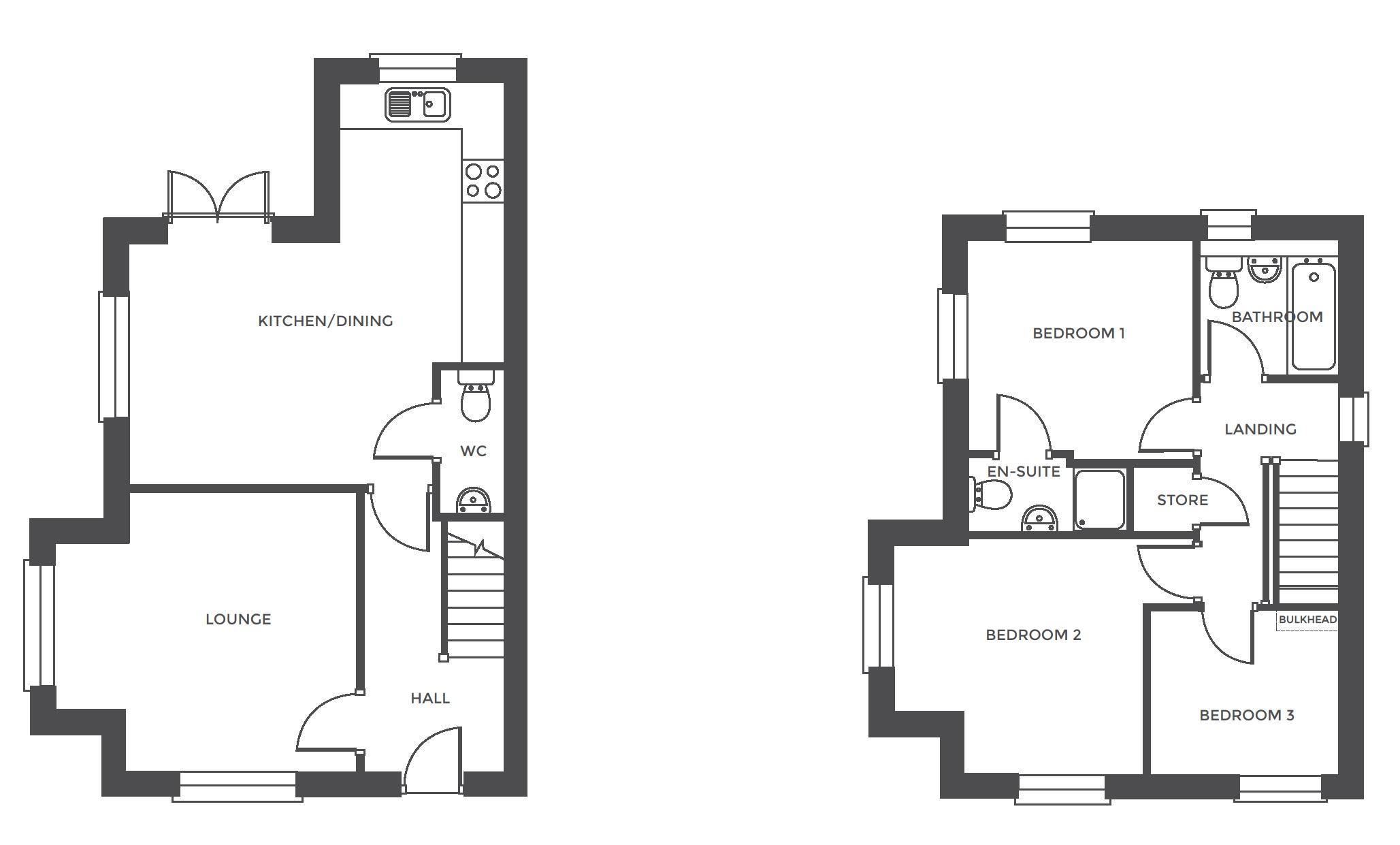 Repington Walk, Plot 3 floor plan