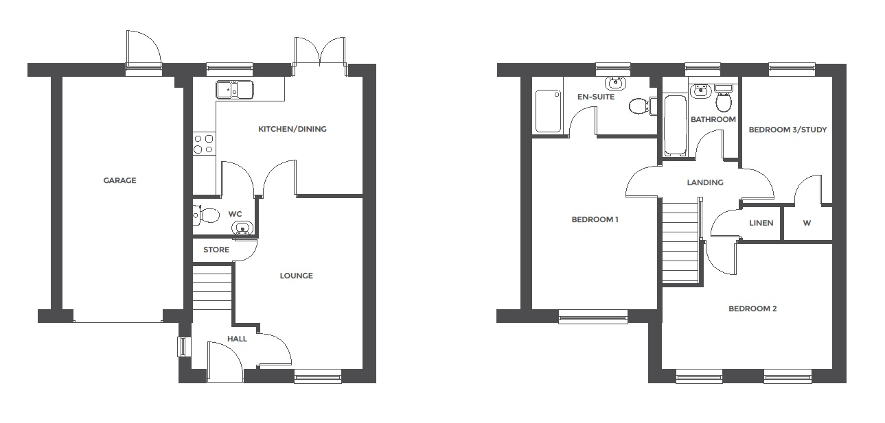 Repington Walk, Plot 6 floor plan