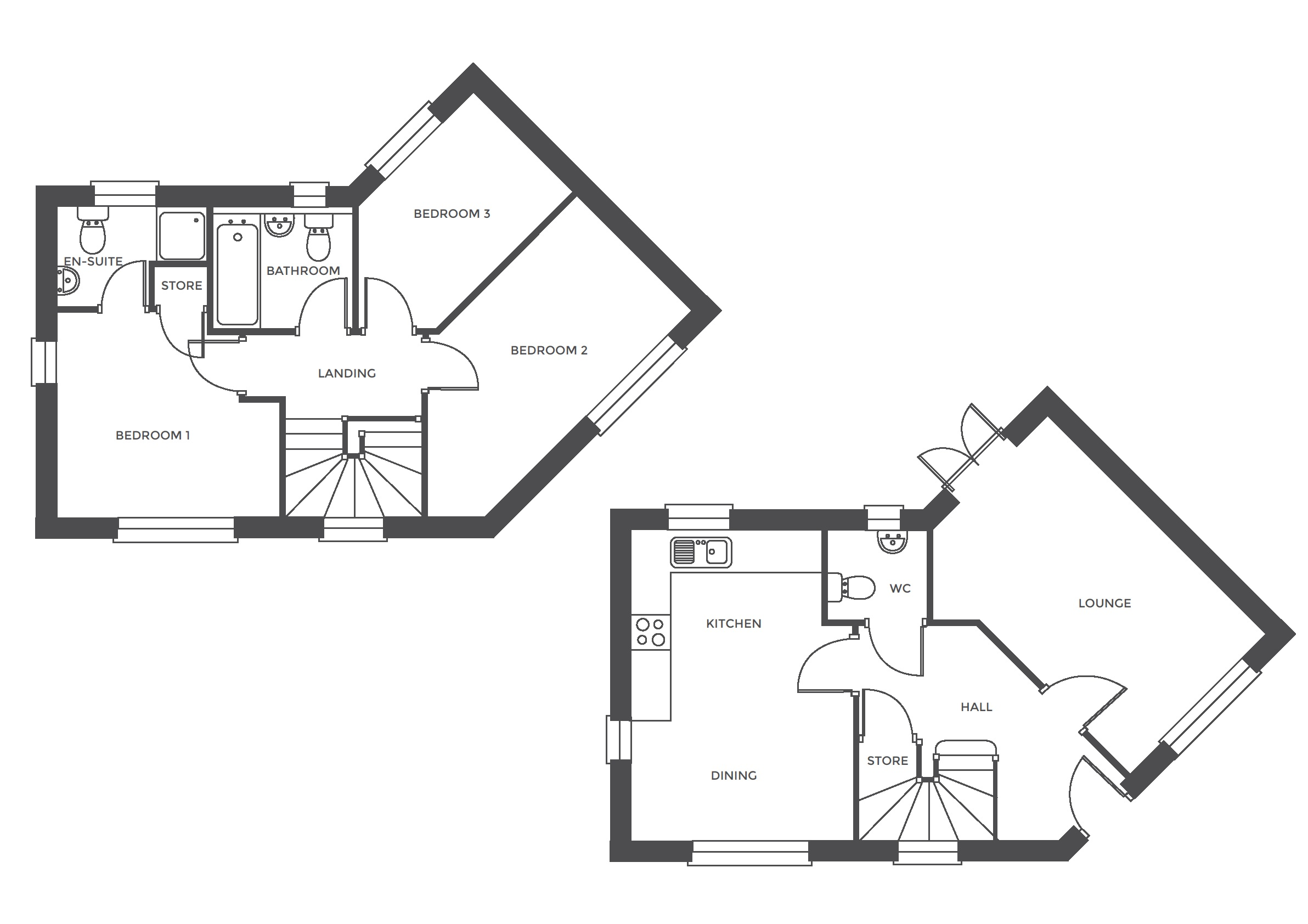 Repington Walk, Plot 4 floor plan