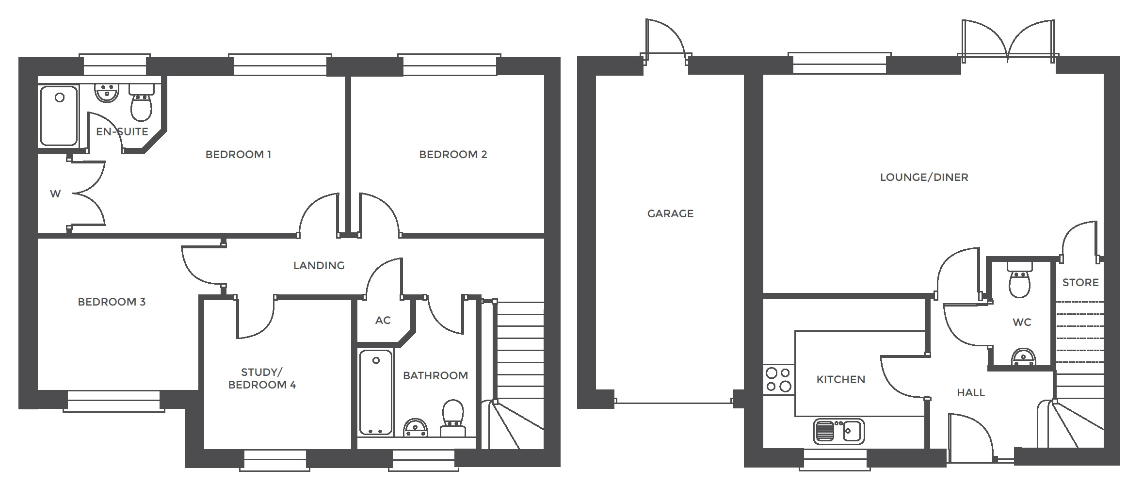 Repington Walk, Plot 8 floor plan