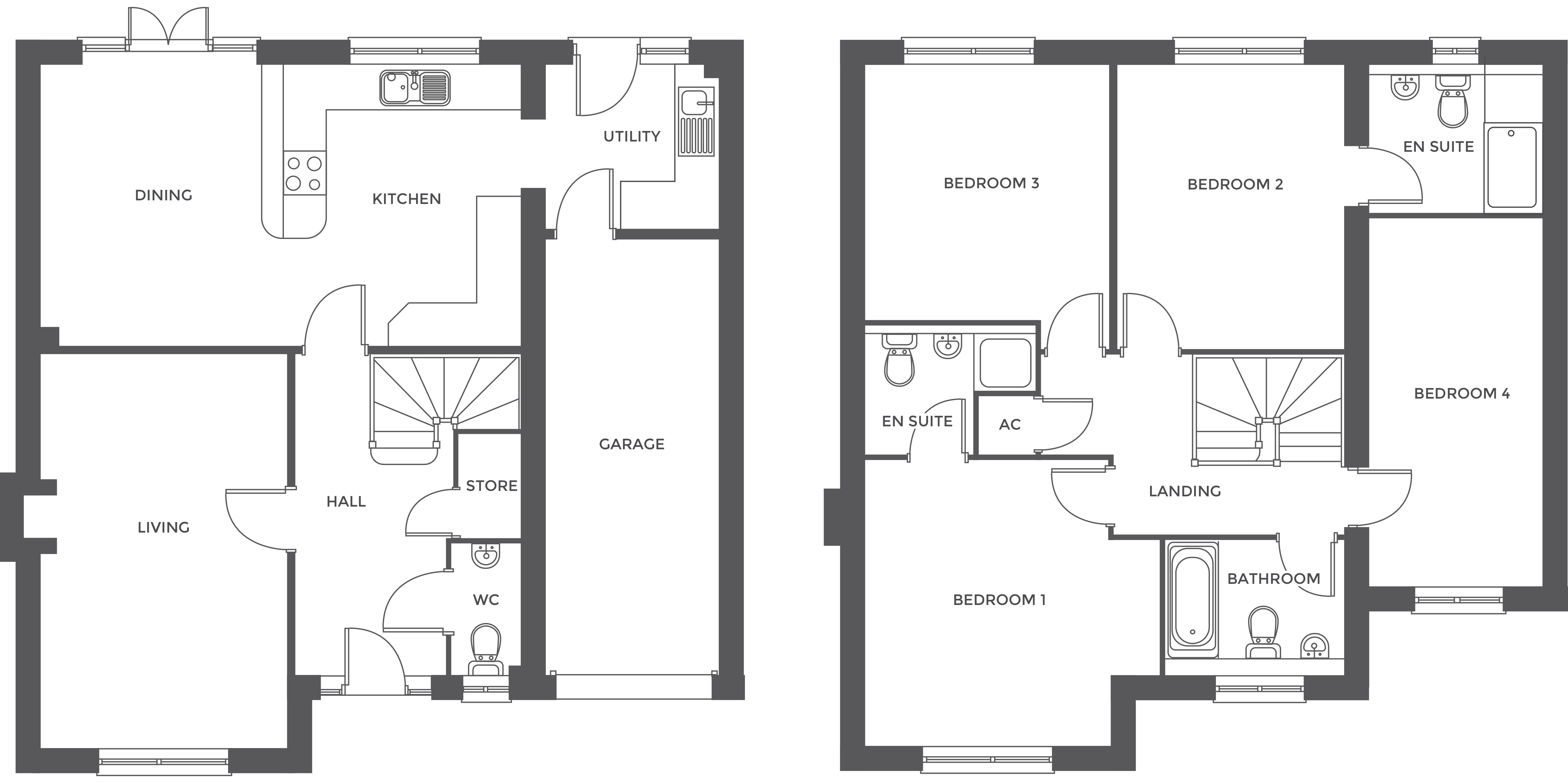 Walton Croft, Plot 5 floor plan