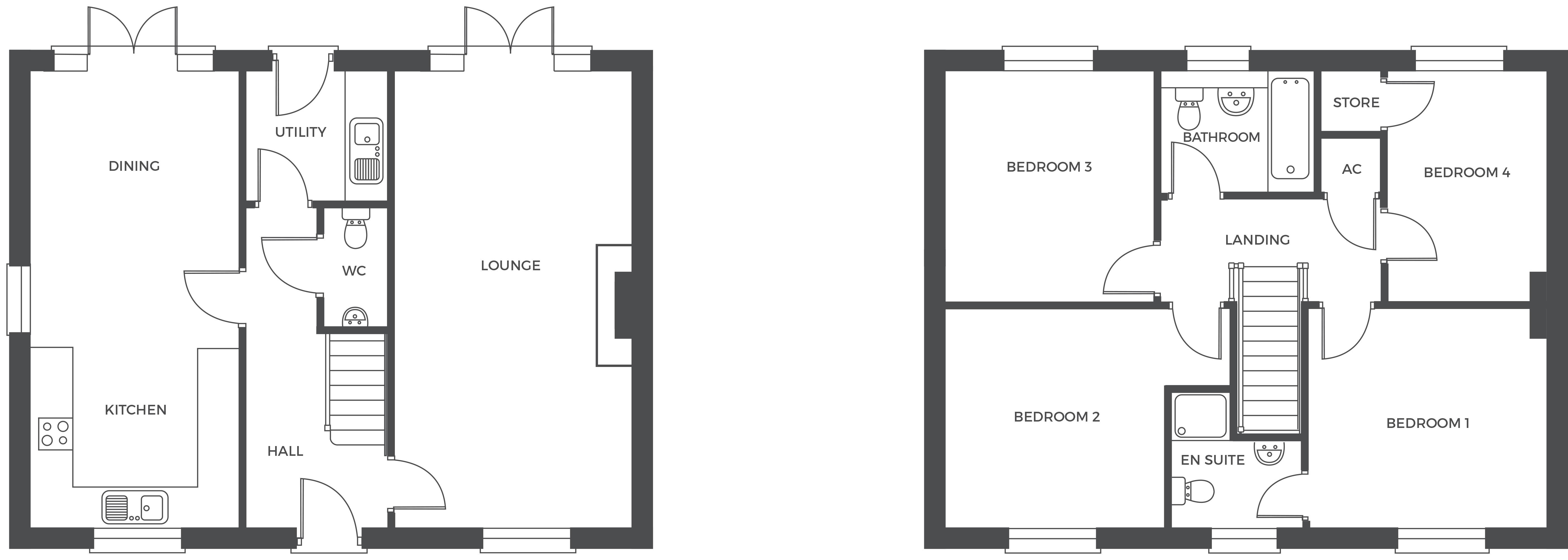 Walton Croft, Plot 6 floor plan