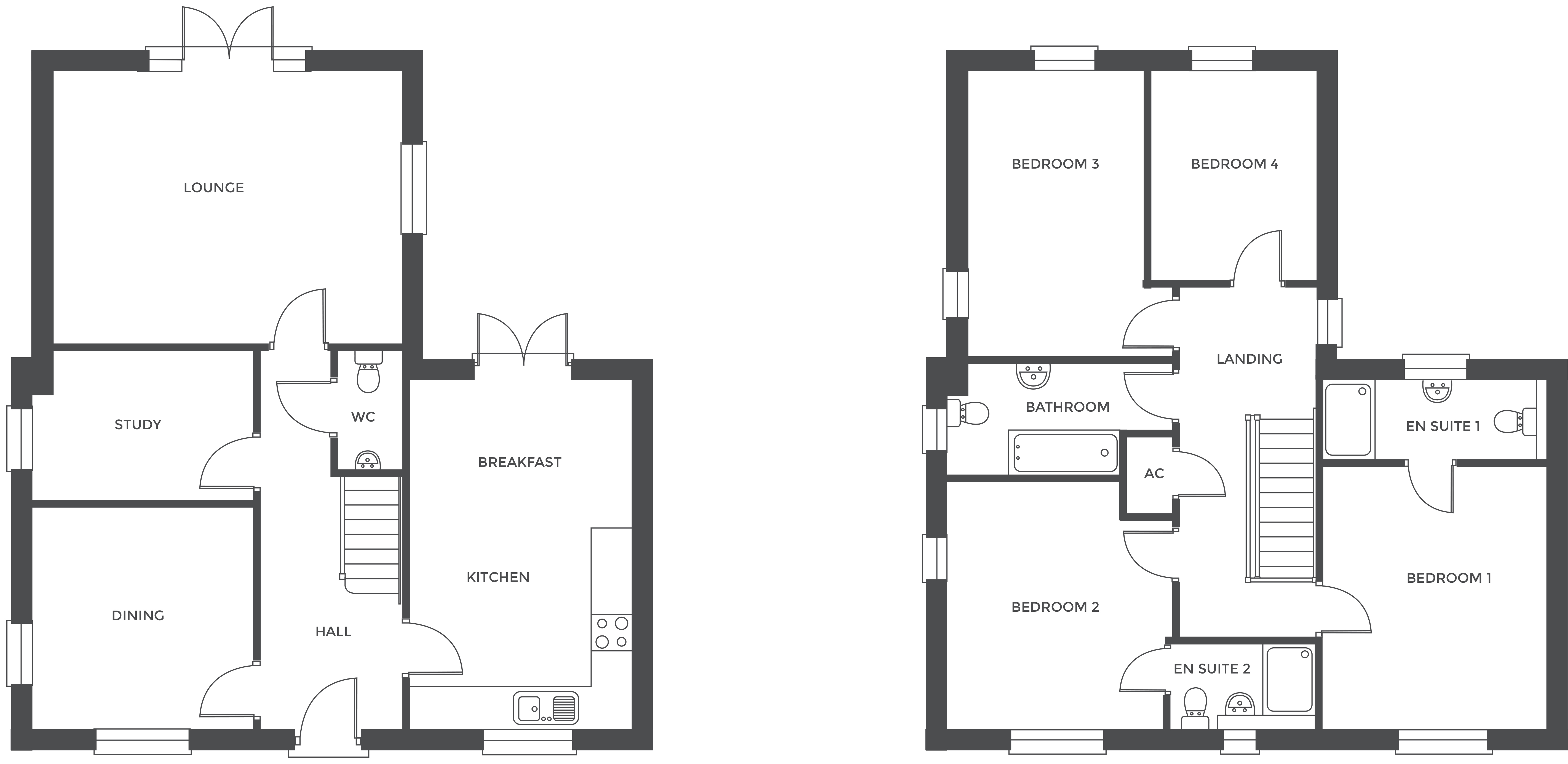 Walton Croft, Plot 7 floor plan